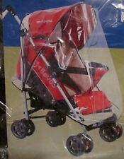 Baby Waterproof Stroller Umbrella Weather Shield Rain Wind Snow Cover Clear