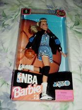 1998 NBA ORLANDO MAGIC BARBIE DOLL W/AUTHENTIC TEAM UNIFORM MATTEL #20748 NIB