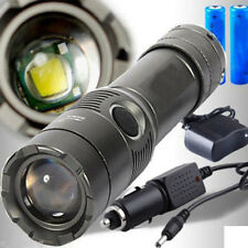3500LM XM-L T6 LED Rechargeable Flashlight Torch 18650 2Charger gh23
