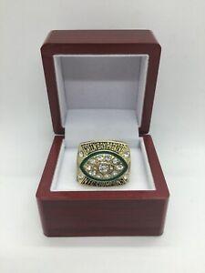 1997 Green Bay Packers Ring Brett Favre NFC Championship Ring Set with Box