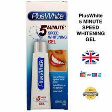 Plus White 5 Minute Speed Teeth Whitening Gel 56g - UK SELLER