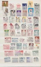 SWEDEN,  50 DIFFERENT USED  STAMPS