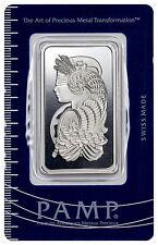 PAMP Suisse 1 Oz .999 Fine Silver Bar - Fortuna w/ Assay Certificate SKU27827