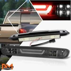 For 07-13 Silverado/Sierra 3D LED Bar 3RD Tail Brake Light W/Cargo Lamp Smoked