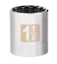 "NEW! CRAFTSMAN 1-1/8"" Socket 1/2"" Drive 12-Point 34056"