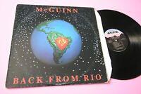Roger Mc Guinn LP Back from Rio Orig US 1991