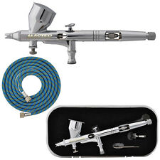 Pro G44 0.2 High Precision Dual-Action Gravity Feed Airbrush Set Kit Hobby Paint