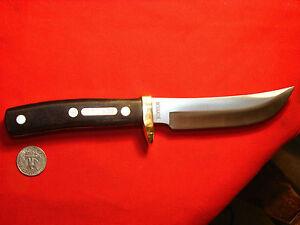 SCHRADE OLD TIMER 165OT WOODSMAN DEER HUNTING KNIFE knife Nice !!!!!