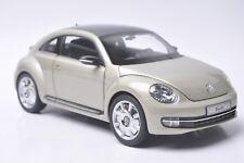 KyoSho Volkswagen Beetle Coupe car model in scale 1:18  moon rock silver