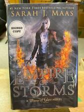 Empire of Storms - Sarah J Maas - Exclusive Edition Signed Copy  Hardcover