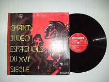Sarah Gorby-Jean Bonal/Chants Judeo Espagnols Du XVI° -Disco Vinile 33 Giri LP