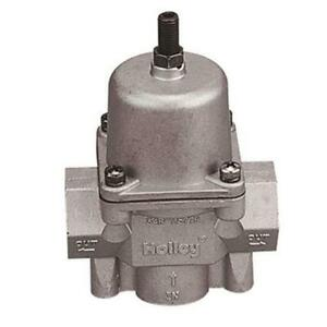 Holley 12-704 Big Port Adjustable Fuel Pressure Regulator, 4.5-9 PSI