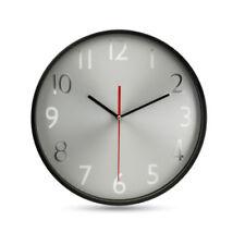 Horloges murales contemporains gris ronds pour la maison