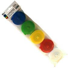 5 Rollmaßbänder, Schneidermaßband Band-Maß, Maßband bunt 150 cm /60 Zoll, E90085