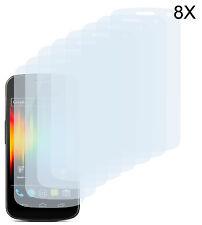 8 x Schutzfolie Samsung Galaxy Nexus i9250 Matt Displayschutz Folie Antireflex
