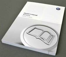 VW Volkswagen Scirocco Owners Manual, Edition 11.2015