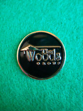 The Woods Group Golf Ball Marker Metal Flat Putting Coin