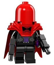 LEGO NEW BATMAN MOVIE SERIES Red Hood MINIFIGURE 71017 FIGURE