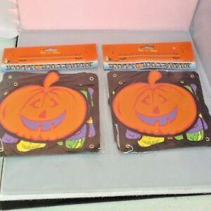 Vintage Paper Halloween Decorations Letter Banner Happy Halloween Pumpkins (2)
