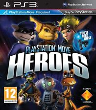 PLAYSTATION MOVE HEROES - MOVE REQUIRED PS3 GAME