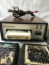 Vintage Glenburn 8 Track Playback Sp-12 Stereo Made In Britain & 8 Tape Beatles