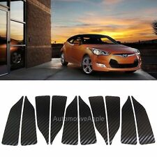 3D Carbon Fabric Wheel Mask Decal Sticker For Hyundai Veloster