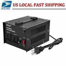 500W Watt Voltage Transformer Step Up Down 110V to 220V Converter Heavy Duty USA