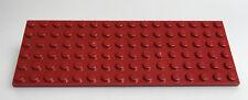 LEGO® System 1x Platte / Bauplatte 6 x 16 dunkelrot dark red 3027 plate used