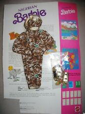 Nigerian Barbie  1989 #7273, outfit ONLY, mint complete