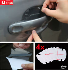 4 pcs Clear Car Door Handle Scratch Protector  Stickers Transparent  Best Gifts