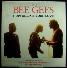 """12""""-Maxi BEE GEES - how deep is your love"""