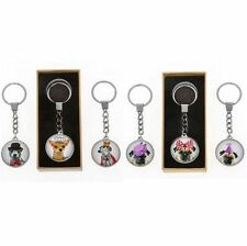 Circle Metal Animal Collectable Keyrings