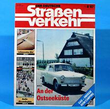 Der Deutsche Straßenverkehr 8/1987 Ribnitz-Damgarten Velorex 700 Bautzen M5