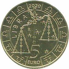 San Marino 2020 Série Zodiaque : Balance Monometallico