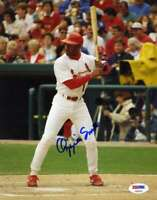 OZZIE SMITH PSA DNA Certed Autograph 8x10 Photo  Hand Signed Authentic