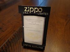 PRECISION MADE ZIPPO 2 TONE JAPAN ISSUE ZIPPO LIGHTER NEAR MINT 1997