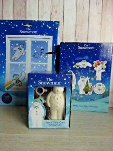 The Snowman - Childrens Craft - Kits x 3 - Stocking - Christmas Crafts
