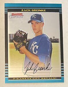 Zack Greinke 2002 Bowman Chrome #BDP6 Rookie RC Card Astros Royals RARE