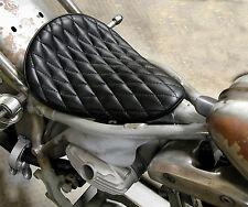 EASYRIDERS DIAMANTE NERO PUNTO sella monoposto Harley Bobber Chopper XS650