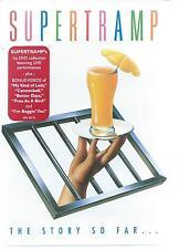 DVD - SUPERTRAMP - THE STORY SO NFAR - LIVE PERFORMANCES +CLIPS