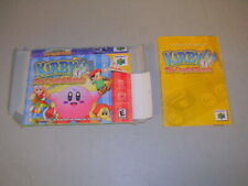 Kirby 64 Crystal Shards (Nintendo 64 N64) Original Box and Manual, No Game