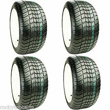 Golf Cart Tires Set of 4, Excel Classic Street D.O.T. 215/50-12 4Ply Lift Needed