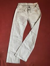 Replay WV410A Damen Jeans Denim W25/L32 extra low waist relaxed wide bootcut leg