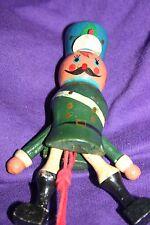 Vintage wood soldier ornament Jumping Jack