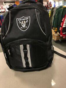 Oakland Raiders BACKPACK BY NORTHWEST  BLACK/GREY