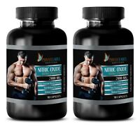 immune support supplement - NITRIC OXIDE 2400mg- nitric oxide citrulline - 2 Bot