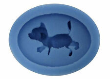 Dog Mini Silicone Mold for Fondant, Gum Paste, Chocolate, Crafts NEW