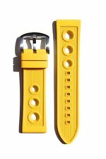 20MM RUBBER DIVER WATCH BAND STRAP FOR BREITLING SUPEROCEAN PORTHOLE