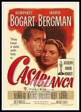 Casablanca 8  Poster Greatest Movies Classic & Vintage Films