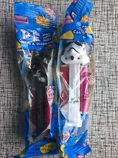 New PEZ Star Wars 2 Piece Dark Side Set Darth Vader & Storm Trooper